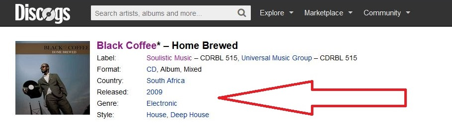Black Coffee Home Brewed Album