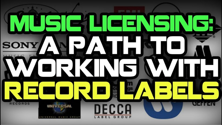 licensing deals for record labels