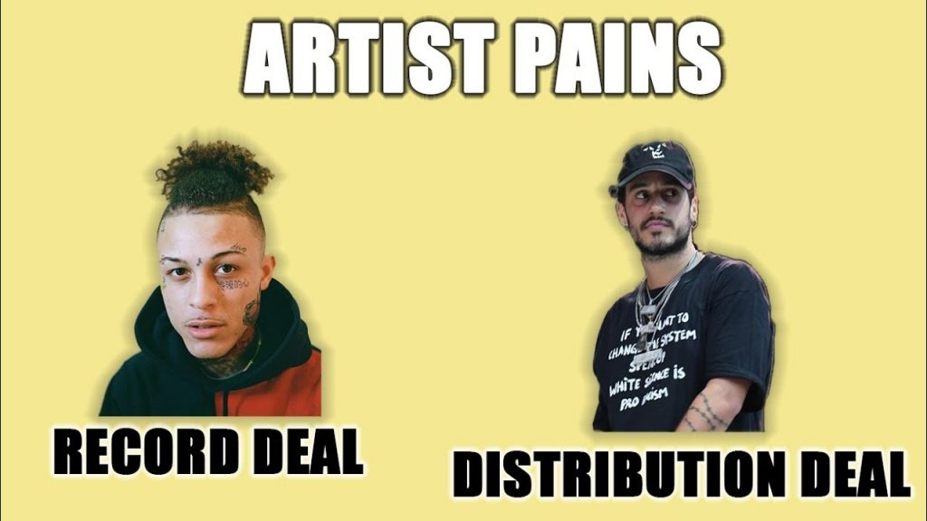 how music distribution deals work