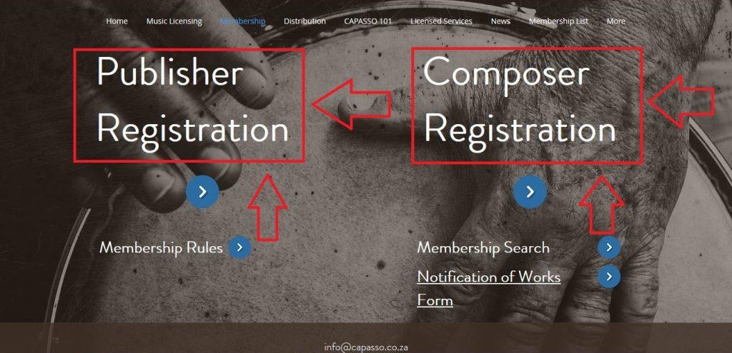 Capasso registration