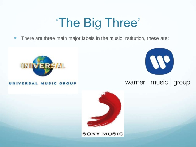 The big three labels